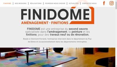 Site internet de Finidome