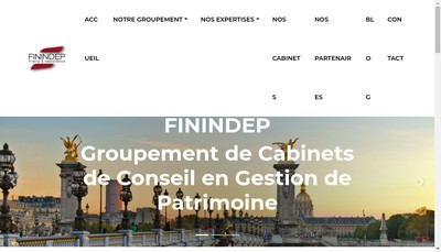 Site internet de Finindep