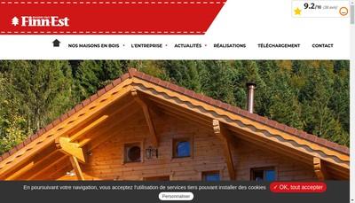 Site internet de SARL Finn'Est