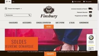 Site internet de Finsbury