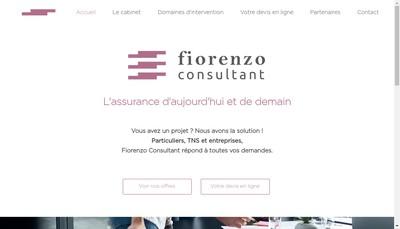 Site internet de Fiorenzo Consultant