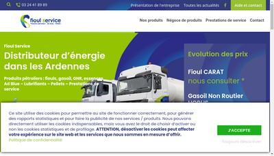Site internet de Fioul Services
