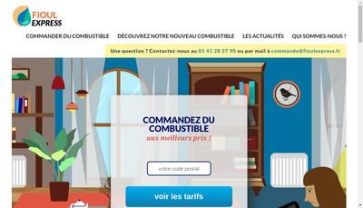 Site internet de Viguie Long Oustry Fioul Express