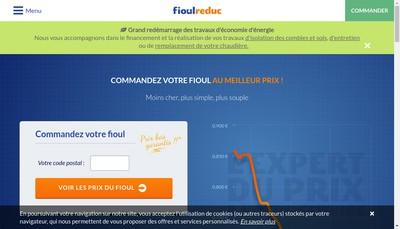 Site internet de Fioulreduc