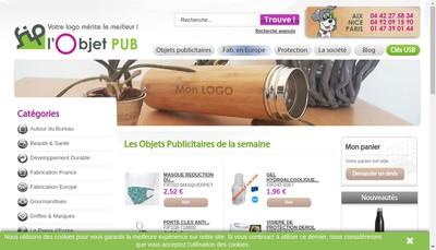 Site internet de France Import Production