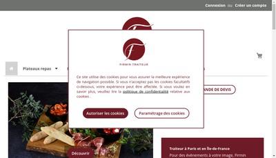 Site internet de Charles Traiteur Firmin Traiteur
