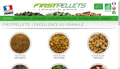 Site internet de SARL Firstpellets