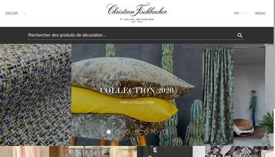 Site internet de Christian Fischbacher SARL