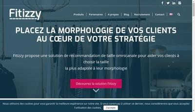 Site internet de Fitizzy