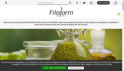 Site internet de Fitoform