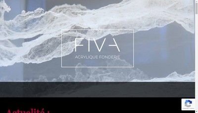 Site internet de Fiva Creations
