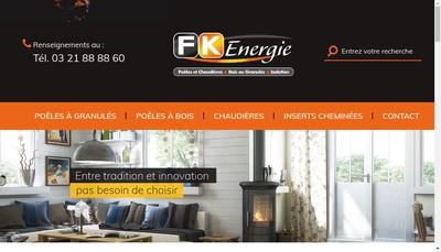 Site internet de Fk Energie
