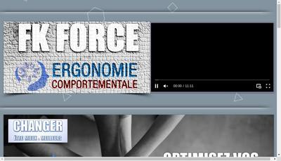 Site internet de Fk Force