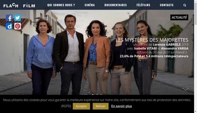 Site internet de Flach Film