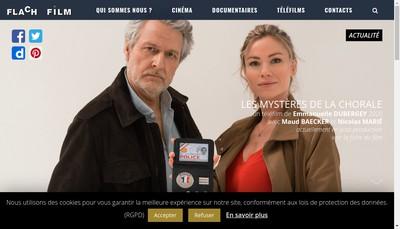 Site internet de Flach Film Production