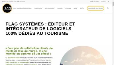 Site internet de Flag Systemes