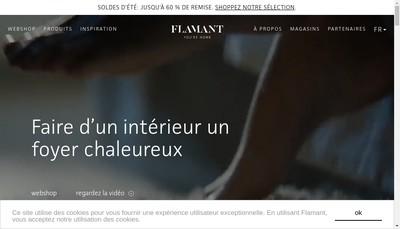 Site internet de Flamant France