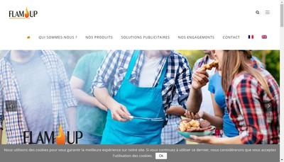Site internet de Flam'Up