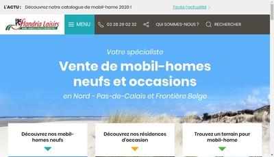 Site internet de Flandria Loisirs