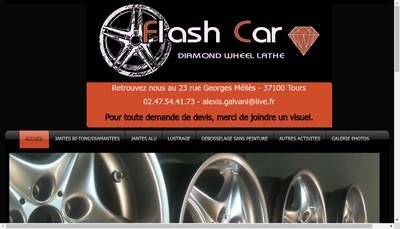 Site internet de Flash Car