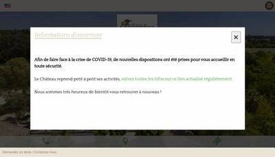 Site internet de Chateau de Flaugergues