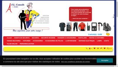 Site internet de SARL Fl Conseils