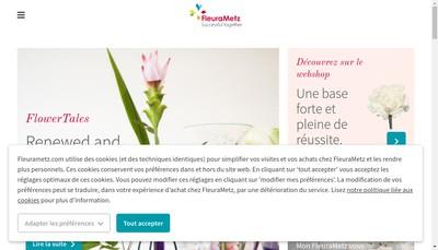 Site internet de Fleurametz