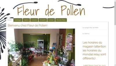 Site internet de Fleur de Pollen