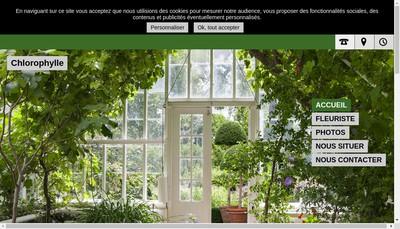 Site internet de Chlorophylle