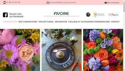 Site internet de A la Pivoine