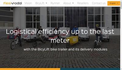 Site internet de Fleximodal