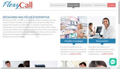 Site internet de Flexycall