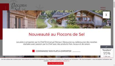 Site internet de Flocon de Sel