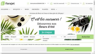Site internet de Flora Jet-Flora Net-Imprim'Jet-Flora'sur