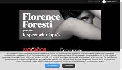 Site internet de Florence Foresti