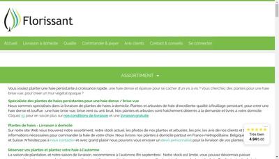 Site internet de Florissant