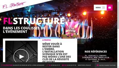 Site internet de FL Structure