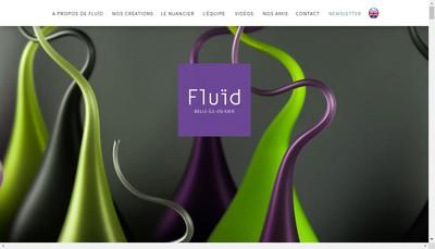 Site internet de Fluid