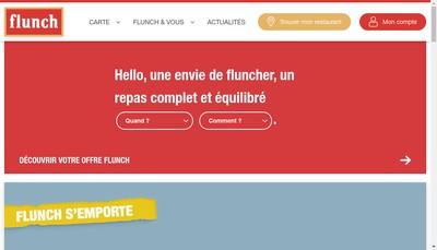 Site internet de Flunch