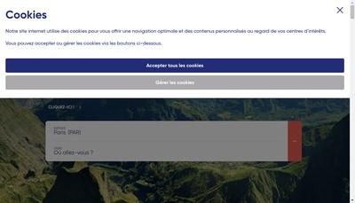 Site internet de Corsair
