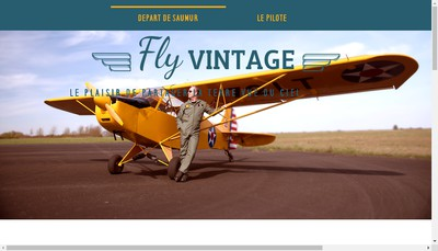 Site internet de Fly Vintage