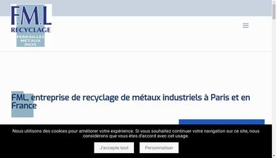 Site internet de Francois Lautard et Fils