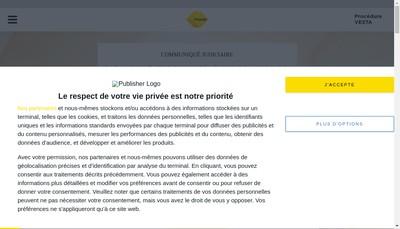 Site internet de Immofonctionnaires