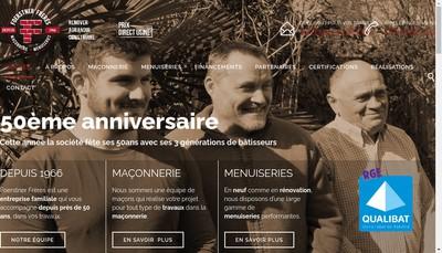Site internet de SARL Foerstner Freres