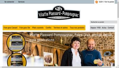 Site internet de Maison Villatte-Plassard-Pompougnac