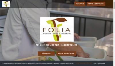 Site internet de Restaurant de Flaugergues