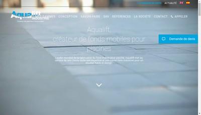 Site internet de Aqualift
