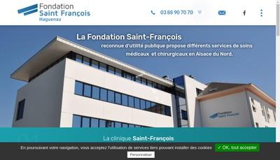 Site internet de GIE Irm Saint Francois