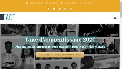 Site internet de Fondation Agir Contre l'Exclusion