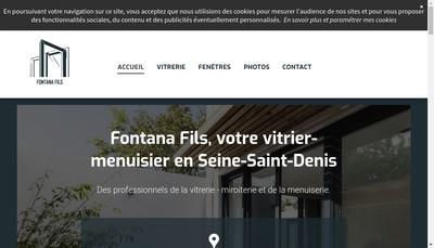 Site internet de Fontana Fils